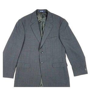 Stafford Men's Casual Suit Blazer Top Size 42 Long